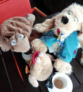 Filu und Dodo mit ihrem Freund Lilo