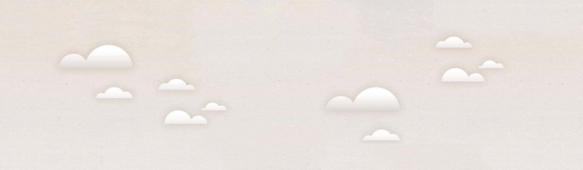 Wolkenhintergrund